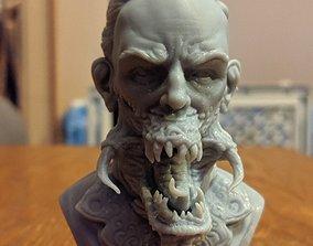 Corrupted human 3D print model