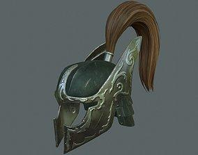 3D model Battle helmet