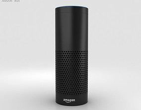 echo 3D model Amazon Echo