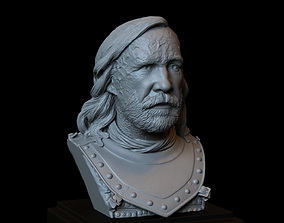 3D print model Sandor Clegane aka The Hound - Game Of 4