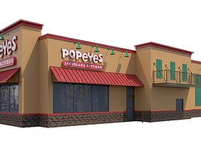 Retail-026 Popeyes 3D