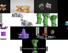 Dice lovers Bundle 3D model