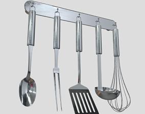 Kitchen Utensil Rack 3D model