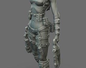 3D Largin - Female Hunter