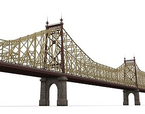3D model Queensboro Bridge