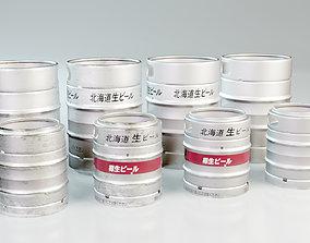 3D model Beer Barrel 10L 20L