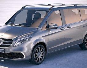 3D Mercedes-Benz V-Class 2020