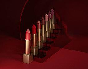 makeup lipstick 3D