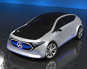 Mercedes-Benz EQA 2017 Electric Concept Car 3D model