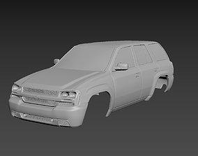3D printable model Chevrolet TrailBlaizer 2007 Body For