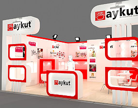 Exhibition Stand - ST0040 3D model