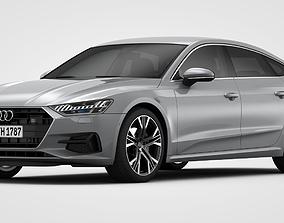 Audi A7 Sportback 2019 3D model