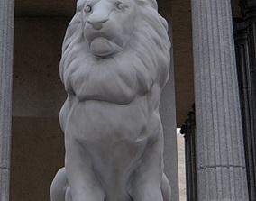 Statue Lion 3D printable model