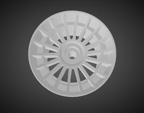 Rotiform LAS-R rims for Hot Wheels 3D print