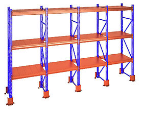 Heavy Duty Storing Racks 3D
