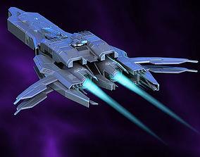 3D Spaceship vehicle fi