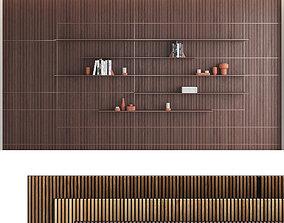 Decorative wall panel set 10 3D model