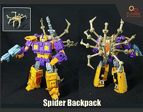 Spider Backpack for Transformers 3D printable model