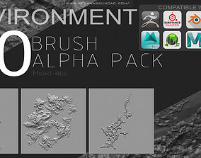 New Environment Brush Pack - Software list 3D grass