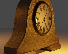 3D model Vintage desk clock