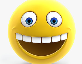 Smiley Face 3D model