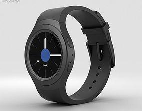 3D Samsung Gear S2 Black