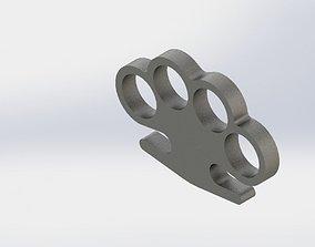 3D printable model Brass knuckles