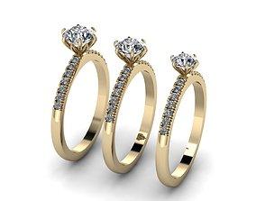 Jewelry Rings NINE RINGS 015 3D printable model