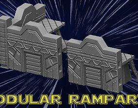 3D print model Modular Ramparts
