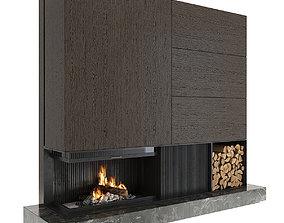 accessories Fireplace 3D model