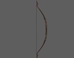 Elven bow 3D printable model