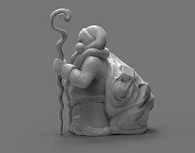 3D printable model Santa Dwarf