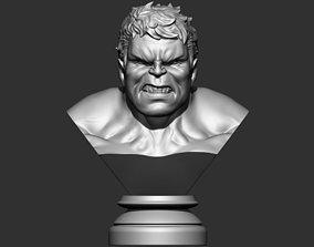 3D print model Hulk Angry Bust