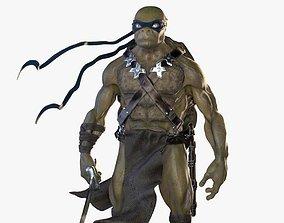 3D Leonardo Mutant Ninja Turtle model
