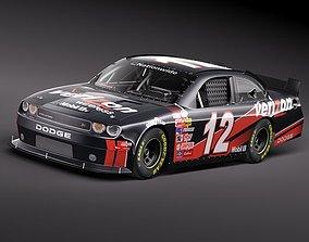 3D NASCAR 2010 Dodge Challenger