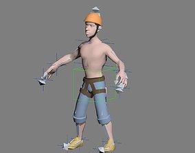 3D asset character man 1
