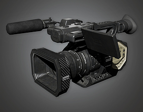 4K Production Camera HLW - PBR Game Ready 3D model