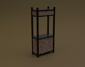 Trade stand 02 R 3D asset
