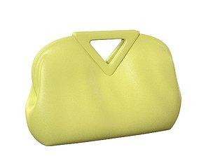 Bottega Veneta Medium Point Bag Seagrass Leather 3D asset