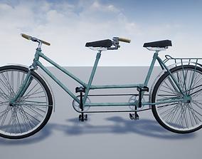 tandem bike 3D model
