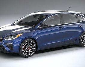 Kia Forte GT Hatchback 2021 3D model