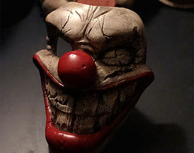 Twisted metal killer clown mask Stl file
