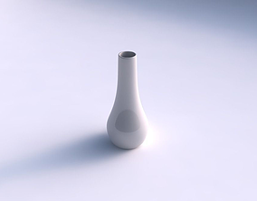 Vase curved 2 smooth 3D print model