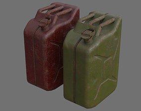 3D asset Fuel Can 3C
