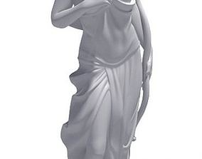 Roman Goddess Statue 3D model