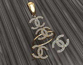 3D printable model A07- Diamond ring