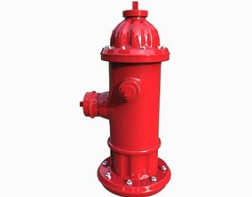 department 3D asset realtime Fire hydrant