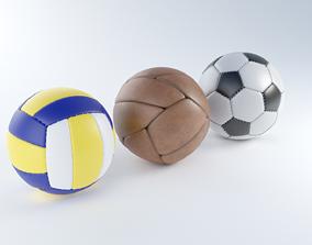 3D model Sport Balls