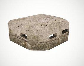 Old bunker 3D asset