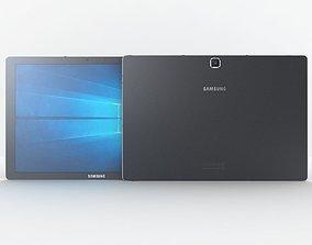 3D Samsung Galaxy TabPro S Black computer
